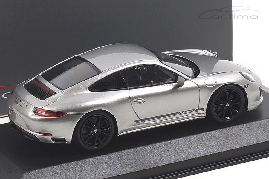 Porsche 911 (991 II) Carrera T GT-silber/Rad schwarz Minichamps 1:43 CA04319004B