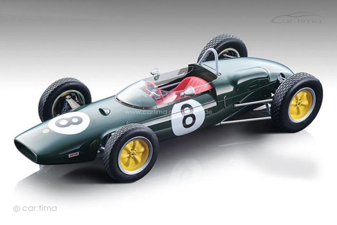 Lotus-F1 21 GP Frankreich 1961 Jim Clark Tecnomodel 1:18 TM18-182B