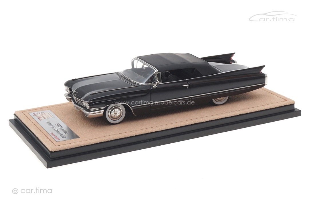 Cadillac Series 62 Convertible schwarz closed Stamp Models 1:43 STM60304