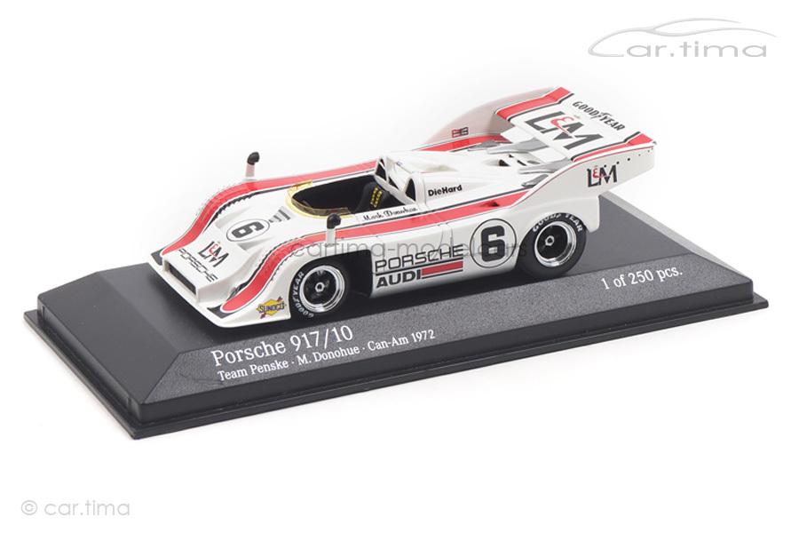 Porsche 917/10 CanAm Series 1972 Mark Donohue Minichamps 1:43 437726506