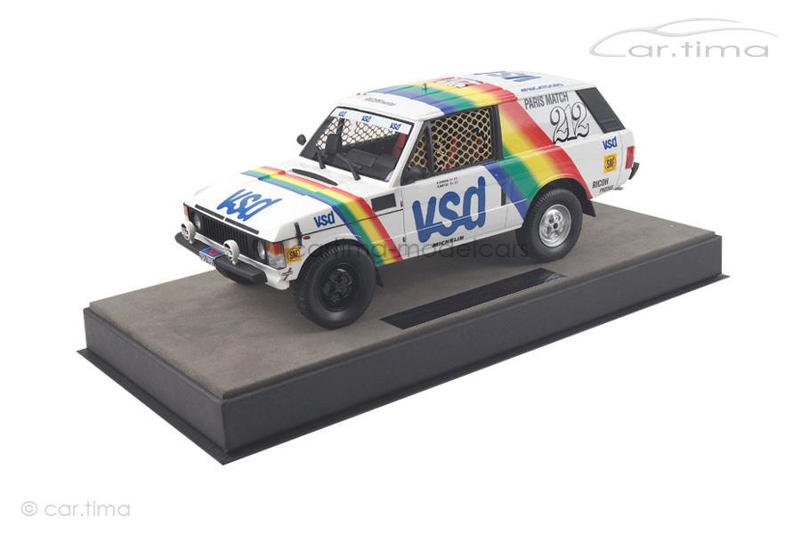 Range Rover Winner Paris Dakar 1981 Metge/Giroux Top Marques 1:18 TMPD-01A