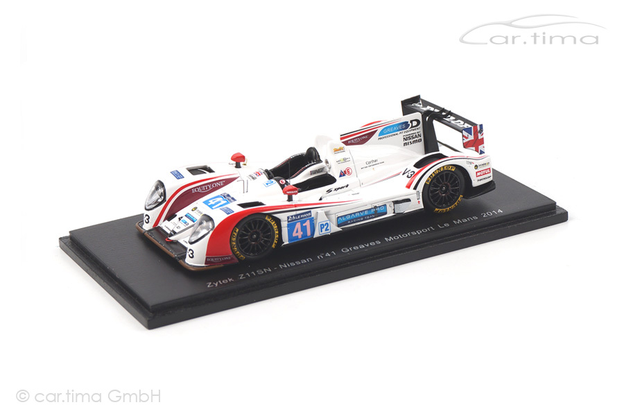 Zytek Z11SN-Nissan 24h Le Mans 2014 Munemann/Latif/Winslow Spark 1:43 S4220