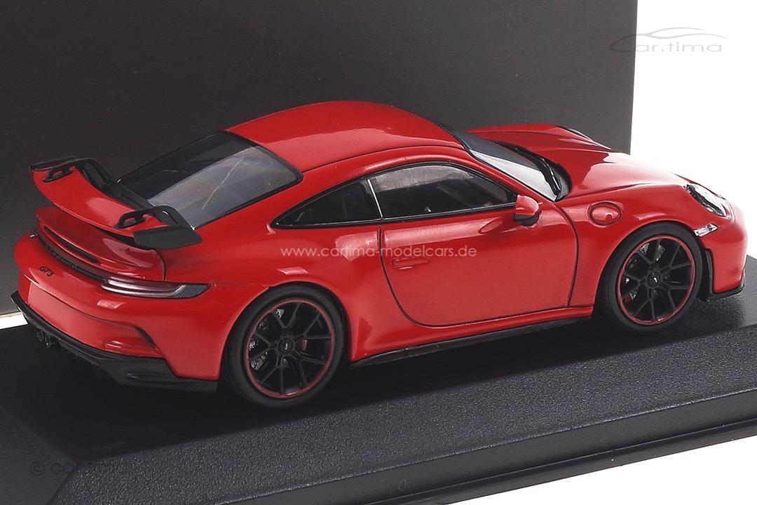Porsche 911 (992) GT3 Indischrot Minichamps 1:43 WAP0201510M006