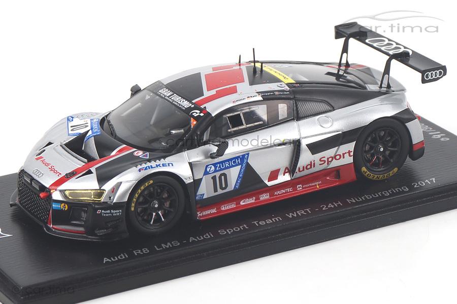 Audi R8 LMS 24h Nürburgring 2017 Müller/Rast/Stippler/Vervisch Spark 1:43 SG300
