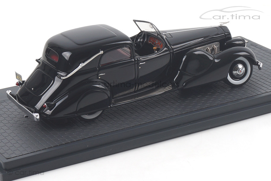 Duesenberg SJ 533-2582 Town Car Bohman & Schwartz schwarz Matrix Scale Models MX40406-031