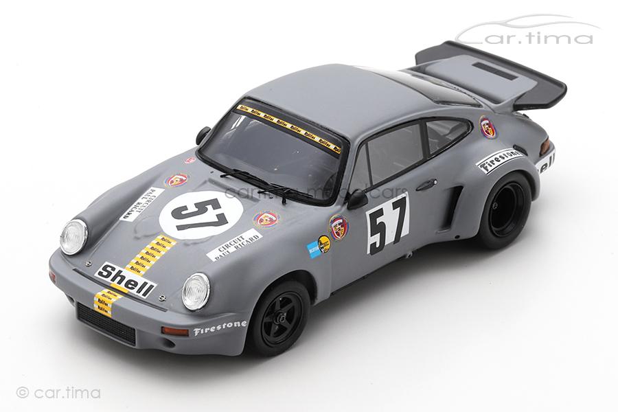 Porsche 911 Carrera RSR 3.0 1000 km Le Castellet 1974 Schenken/Stommelen Spark 1:43 SF192