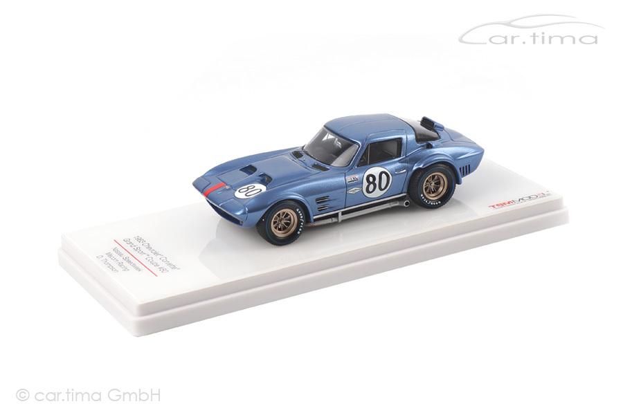 Chevrolet Corvette Grand Sport Coupe Nassau Speedweek 1963 Thompson TSM 1:43 TSM124323