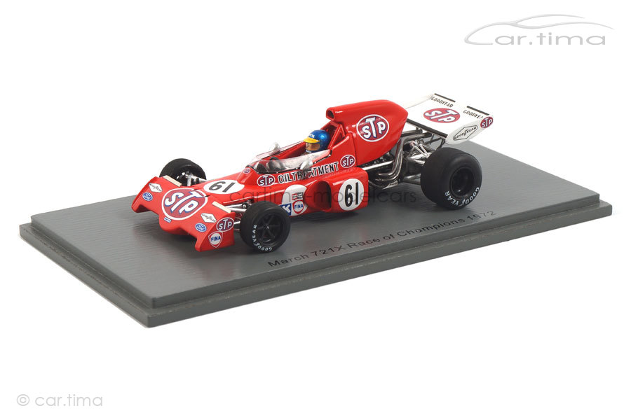 March 721X Race of Champions 1972 Ronnie Peterson Spark 1:43 S7166