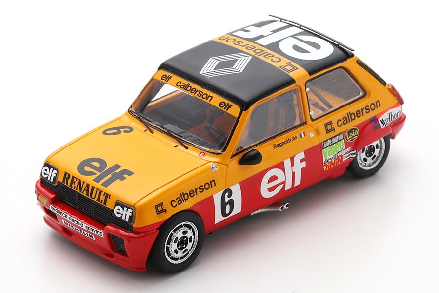 Renault 5 Alpine Turbo Jean Ragnotti Spark 1:43 SF151