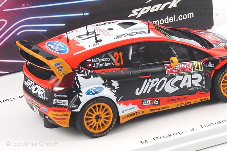 Ford Fiesta WRC Rally Monte Carlo 2015 Prokop/Tománek Spark 1:43 S4516