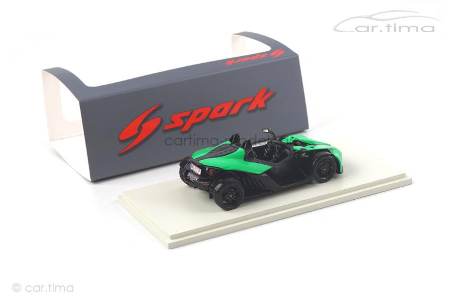 KTM X-Bow R grün Spark 1:43 S5665