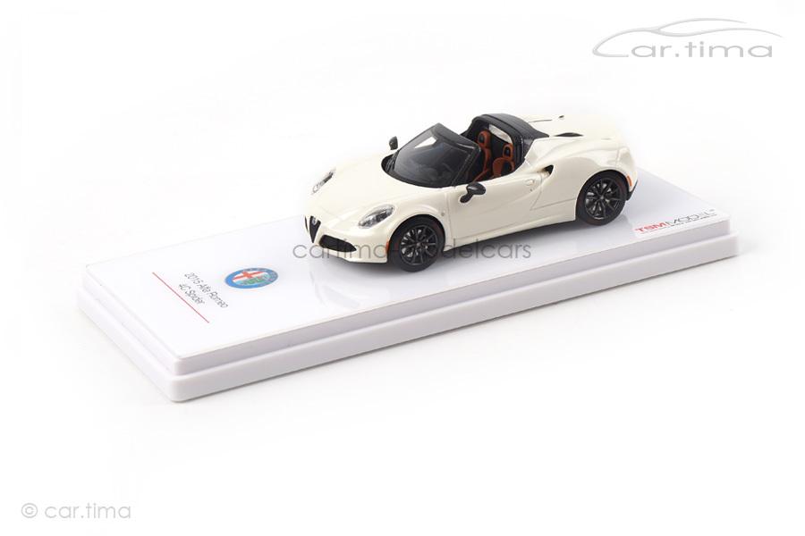 Alfa Romeo 4C Spider Concept weiß TSM 1:43 TSM154314