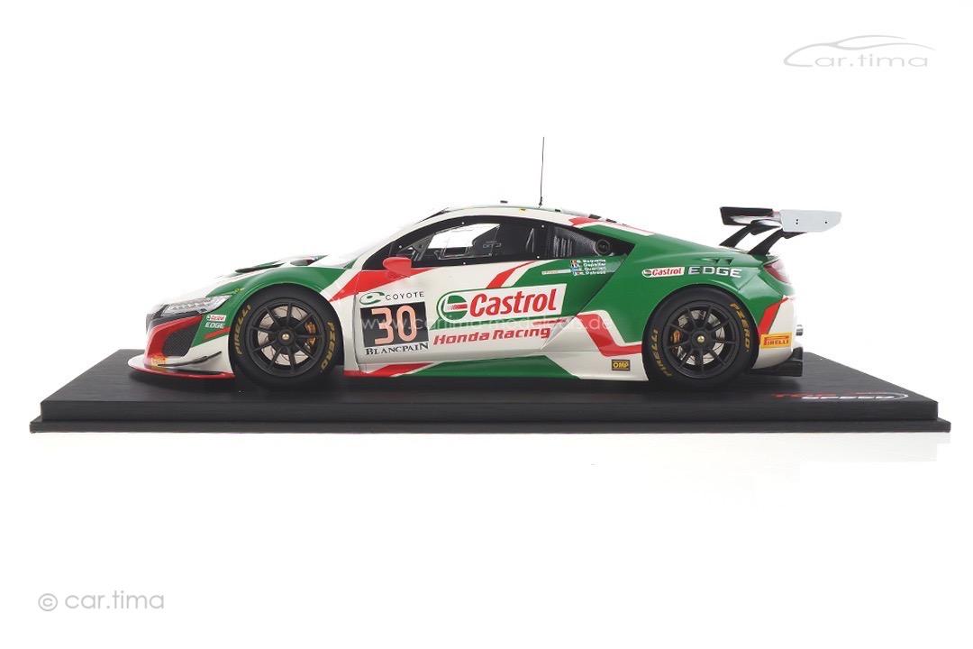 Honda NSX GT3 24h Spa 2018 Baguette/Depailler/Guerrieri/Patrese TopSpeed 1:18 TS0269