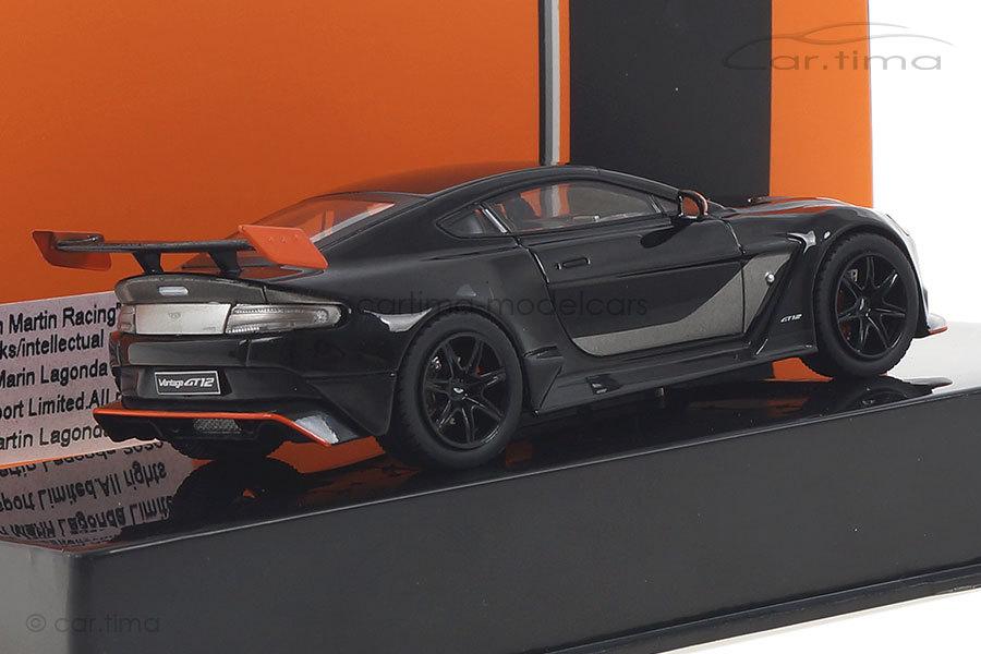 Aston Martin Vantage GT12 schwarz IXO 1:43 MOC301