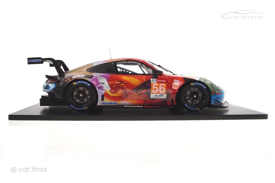 Porsche 911 RSR Winner LMGTE 24h Le Mans 2019 Bergmeister/Lindsey/Perfetti Spark 1:12 12S019