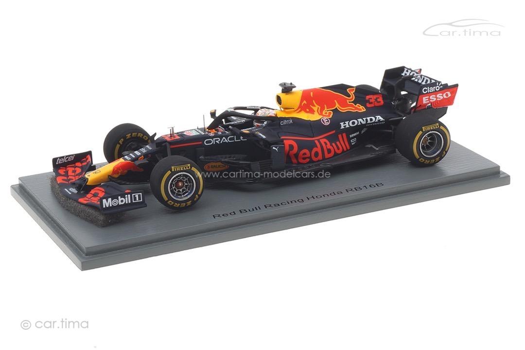 Red Bull Racing Honda RB16B GP Winner Imola 2021 Max Verstappen Spark 1:43 S7666