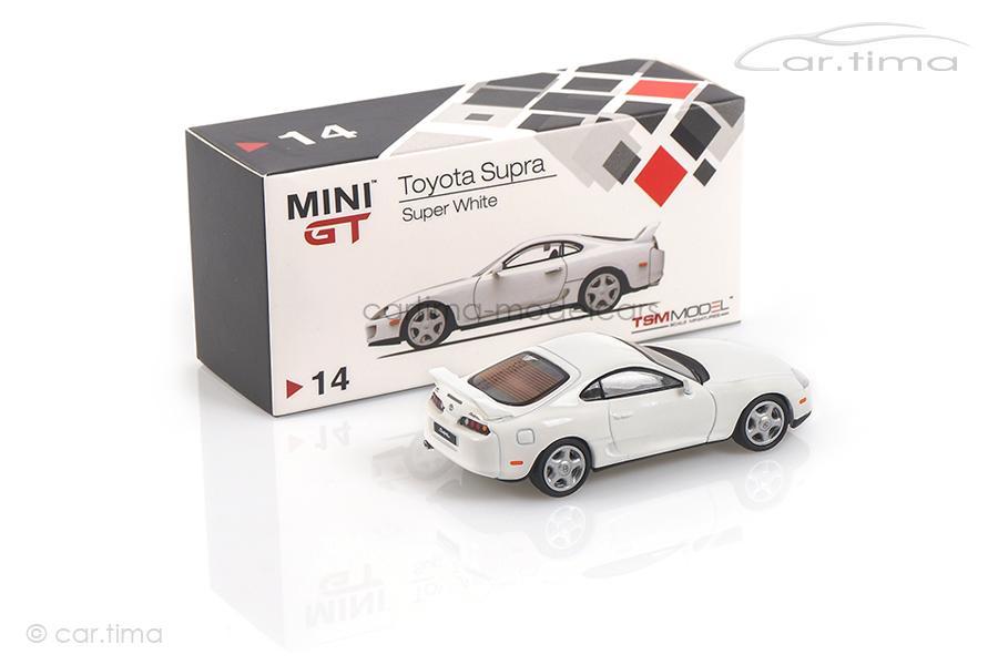 Toyota Supra (LHD) Super white MINI GT 1:64 MGT00014-L