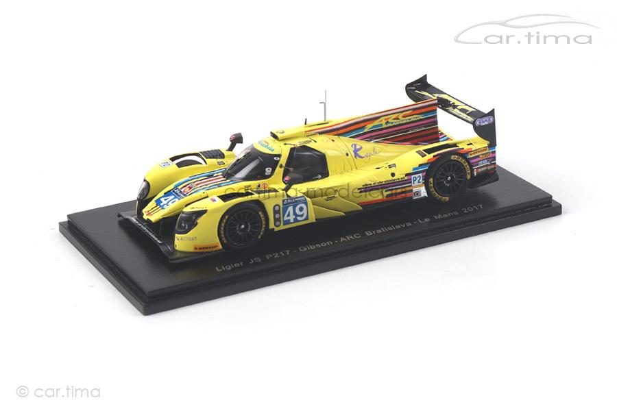 Ligier JS P217 24h Le Mans 2017 Breukers/Calko/Konopoka Spark 1:43 S5830