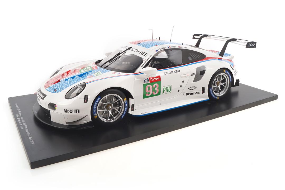 Porsche 911 RSR 24h Le Mans 2019 Bamber/Pilet/Tandy Spark 1:12 12S020