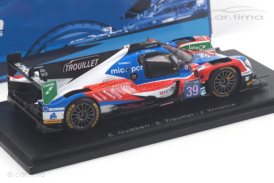 Oreca 07-Gibson 24h Le Mans 2017 Guibbert/Trouillet/Winslow Spark 1:43 S5825