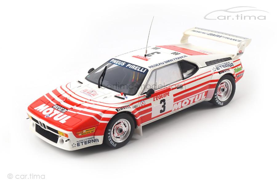 BMW M1 Gruppe B Tour de Corse 1983 OttOmobile 1:18 OT126