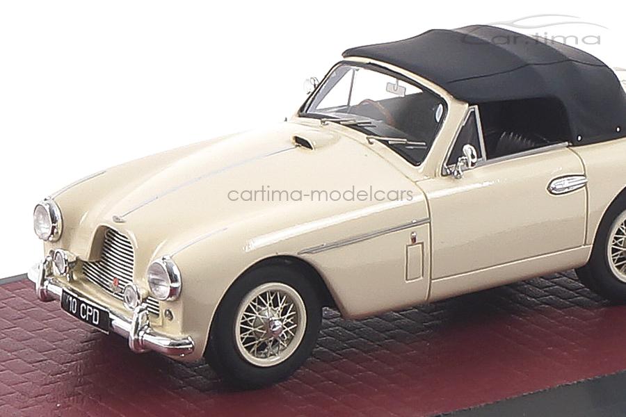Aston Martin DB2/4 MKII DHC by Tickford 1955 weiß Matrix 1:43 MX40108-062