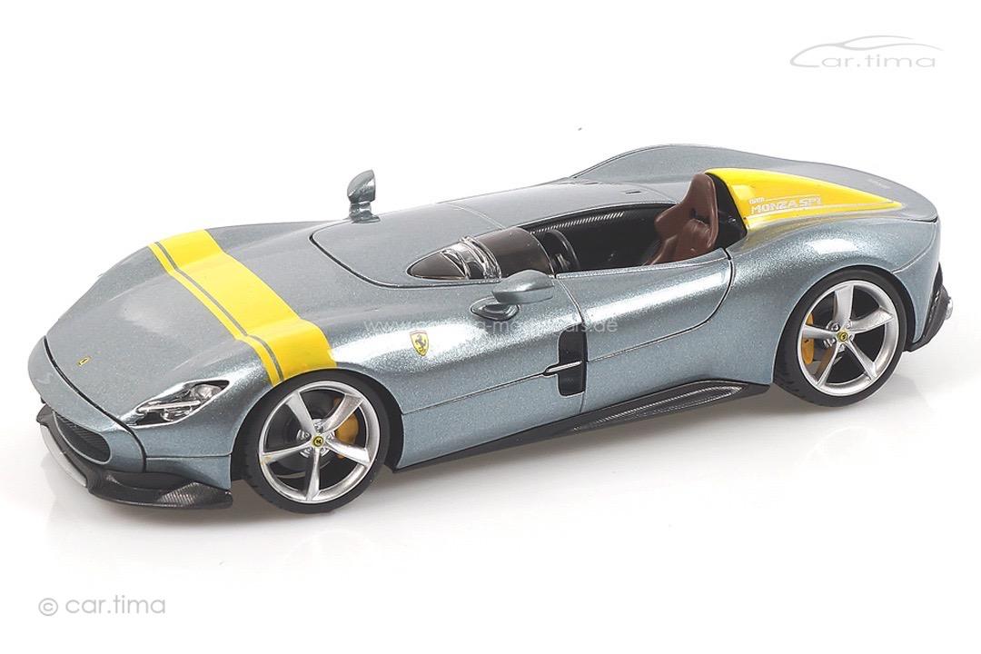 Ferrari Monza SP1 grau/gelb Bburago 1:24 18-26027