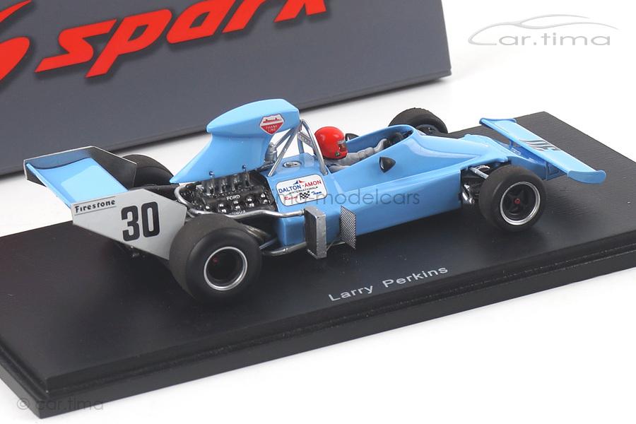 Amon AF1 Training GP Deutschland 1974 Larry Perkins Spark 1:43 S3540