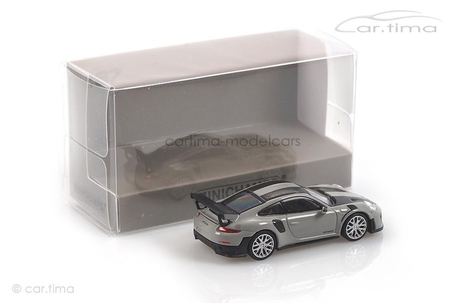 Porsche 911 (991 II) GT2 RS Weissach Paket Kreide Minichamps 1:87 870068122