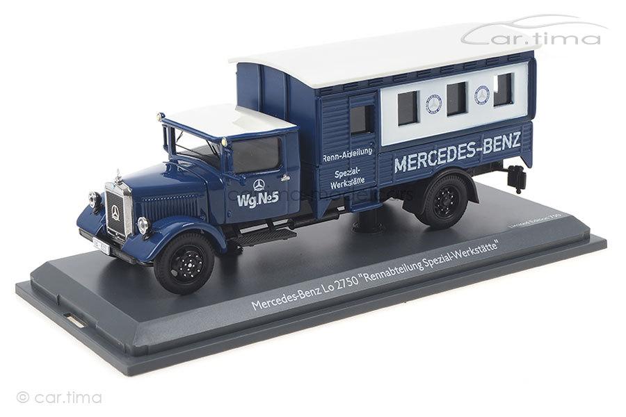 Mercedes-Benz Lo 2750 Rennabteilung Schuco 1:43 450310600