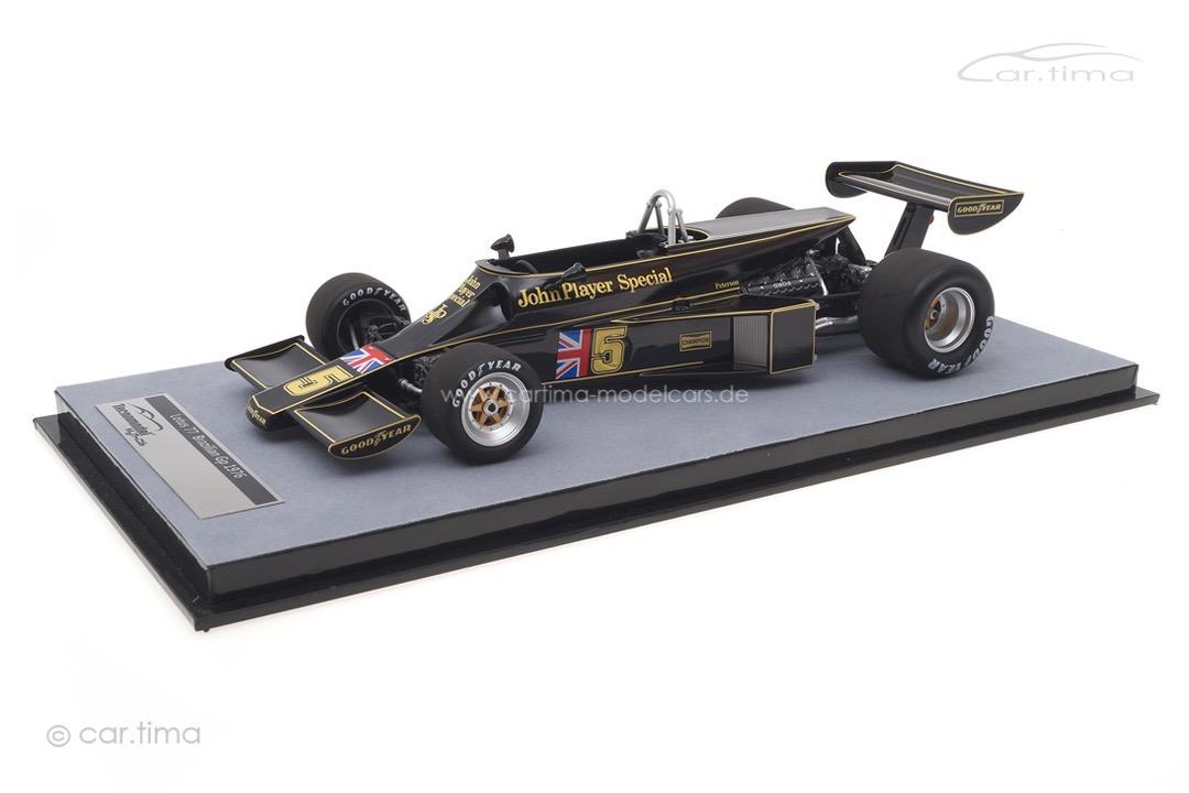 Lotus 77 GP Brasilien 1976 Ronnie Peterson Tecnomodel 1:18 TM18-175C