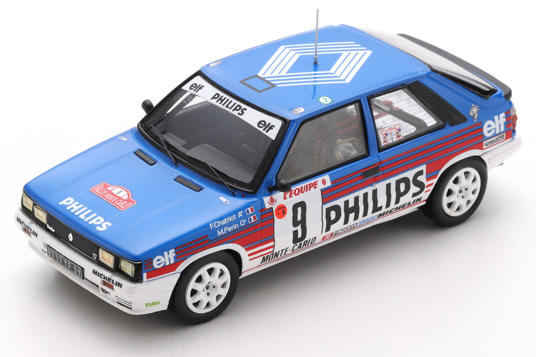 Renault 11 Turbo Rallye Monte Carlo 1987 Chatriot/Périn Spark 1:43 S5569