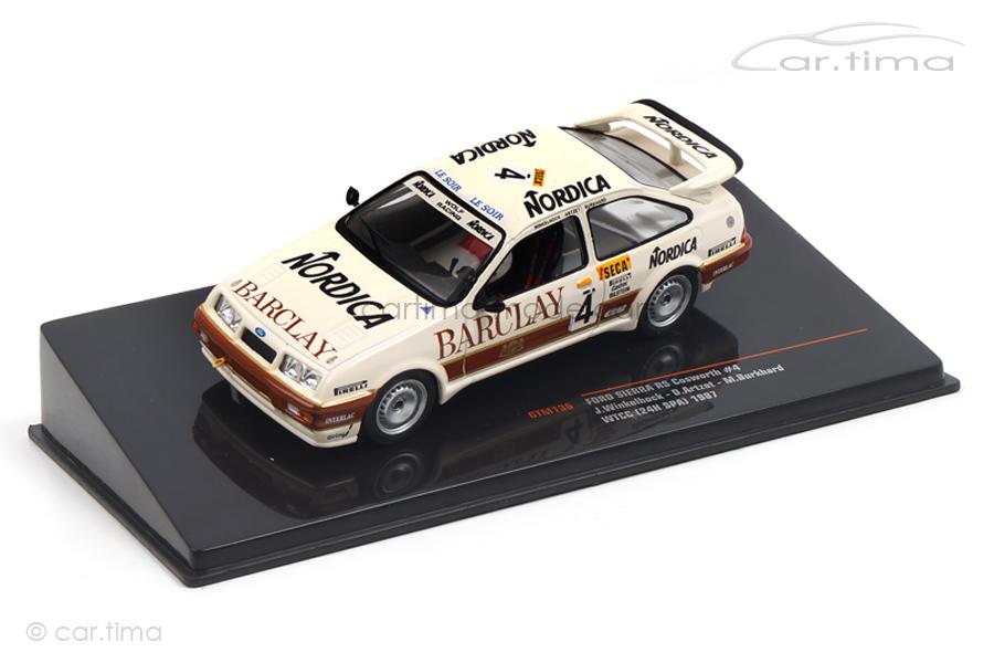 Ford Sierra RS Cosworth 24h Spa 1987 Artzet/Burkhard/Winkelhock IXO 1:43 GTM136