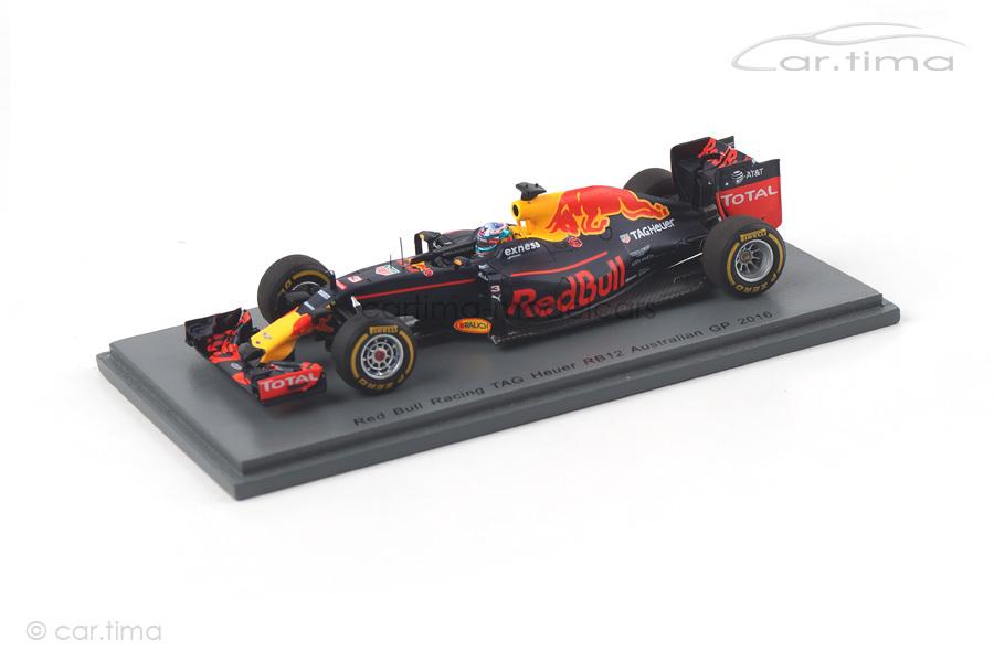 Red Bull Racing RB12 GP Australien 2016 Daniel Ricciardo Spark 1:43 S5007
