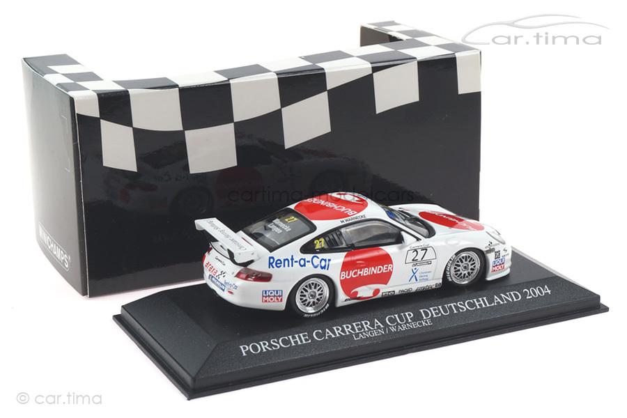 Porsche 911 GT3 Cup Carrera Cup 2004 Araxa Buchbinder Racing Minichamps 1:43 400046227