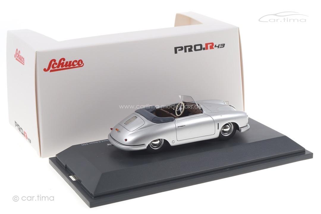 Porsche 356 Gmünd silber Schuco 1:43 450913100