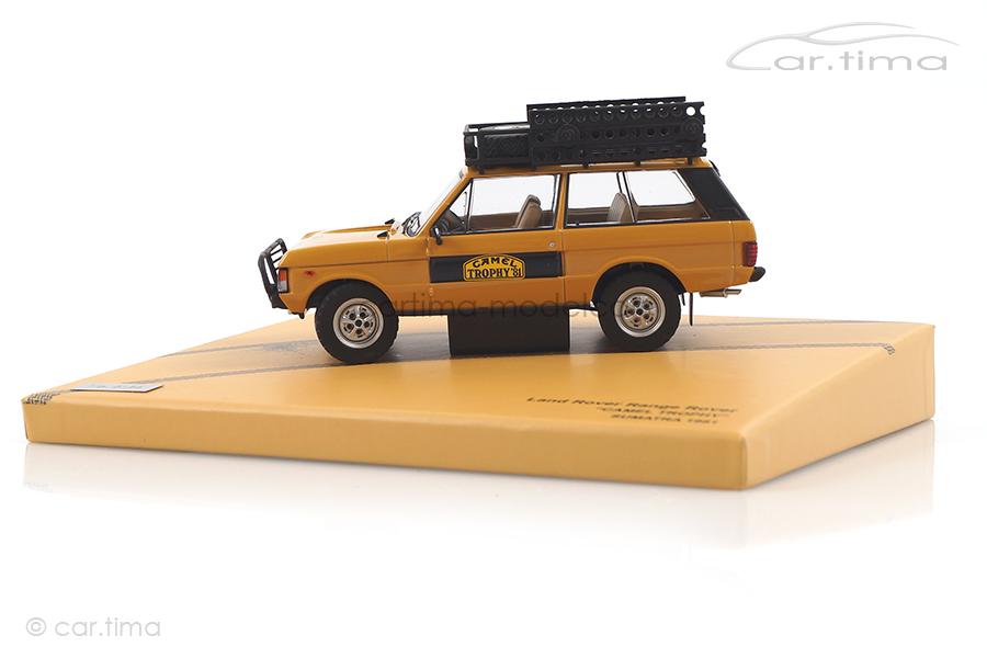 Land Rover Range Rover Camel Trophy Sumatra 1981 Almost Real 1:43 410107