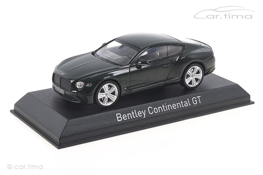 Bentley Continental GT 2018 British Racing Green Norev 1:43 270322