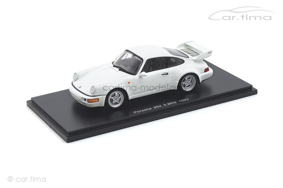 Porsche 911 (964) Carrera RS 3.8 weiß Spark 1:43 SDC015