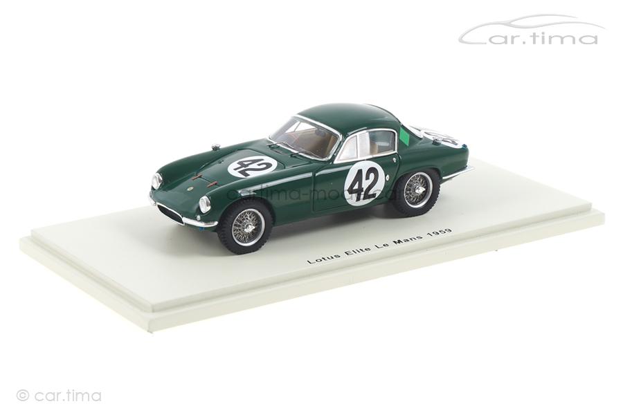 Lotus Elite 24h Le Mans 1959 Clark/Whitmore Spark 1:43 S5076