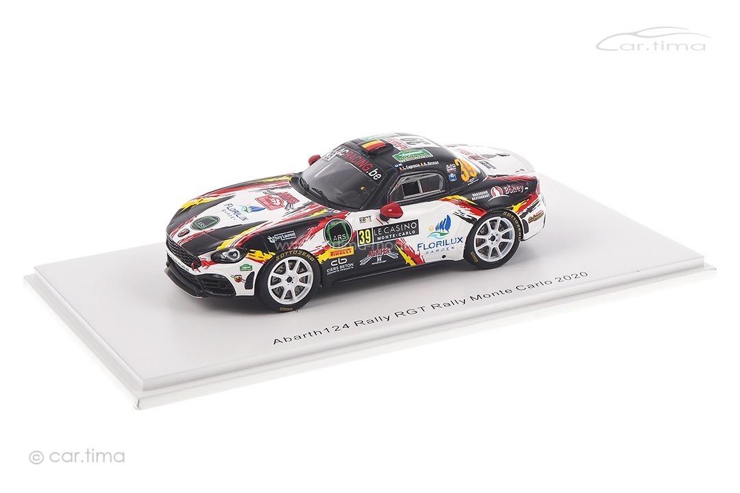 Abarth 124 Rally RGT Rallye Monte Carlo 2020 Caprasse/Herman Spark 1:43 S6565