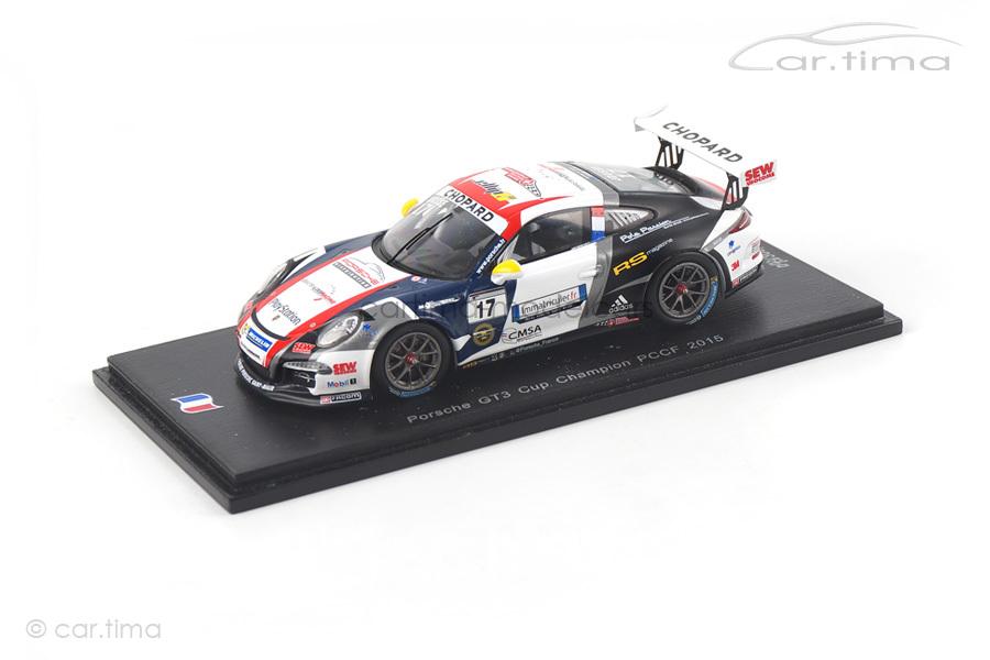 Porsche 911 (991) GT3 Cup Champion Carrera Cup France 2015 Maxime Jousse Spark 1:43 SF090