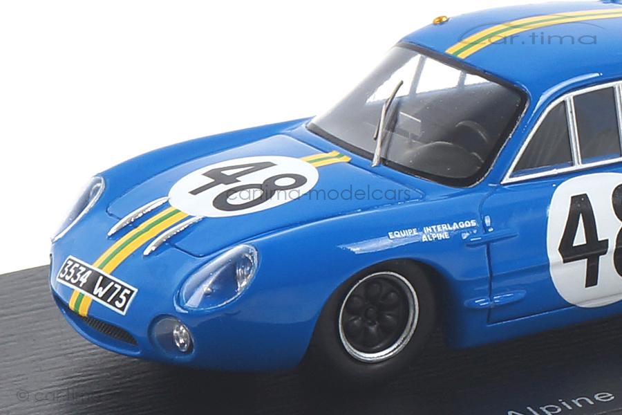 Alpine M63 24h Le Mans 1963 Heinz/Rosinski Spark 1:43 S5482