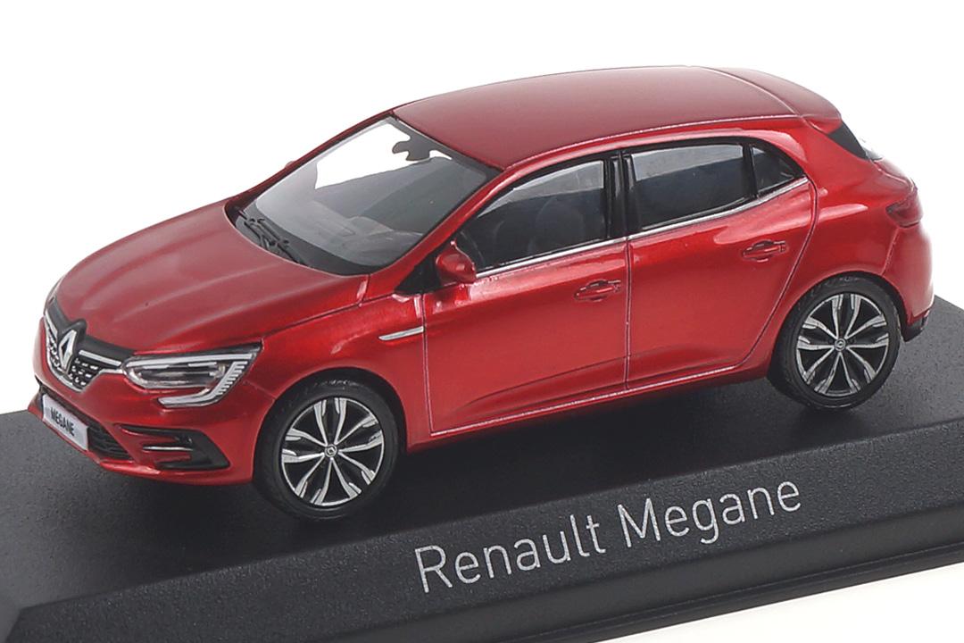 Renault Megane 2020 Flamme Red Norev 1:43 517786