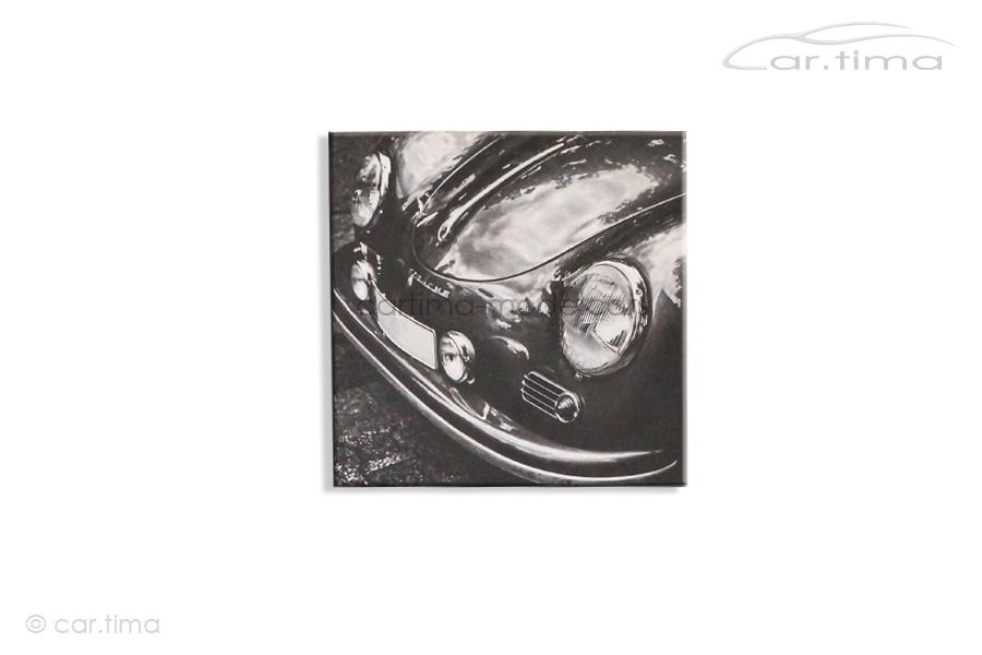 Kunstdruck auf Leinwand/Keilrahmen Porsche 356 45x45 cm