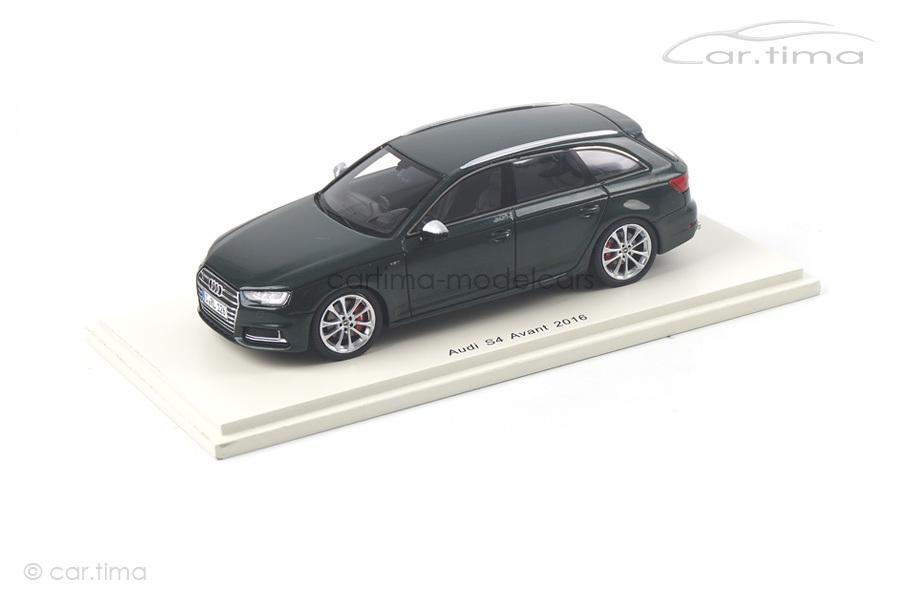 Audi S4 Avant 2016 grün Spark 1:43 S4888