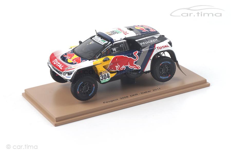 Peugeot 3008 DKR Dakar Rally 2017 Sainz/Cruz Spark 1:43 S5613