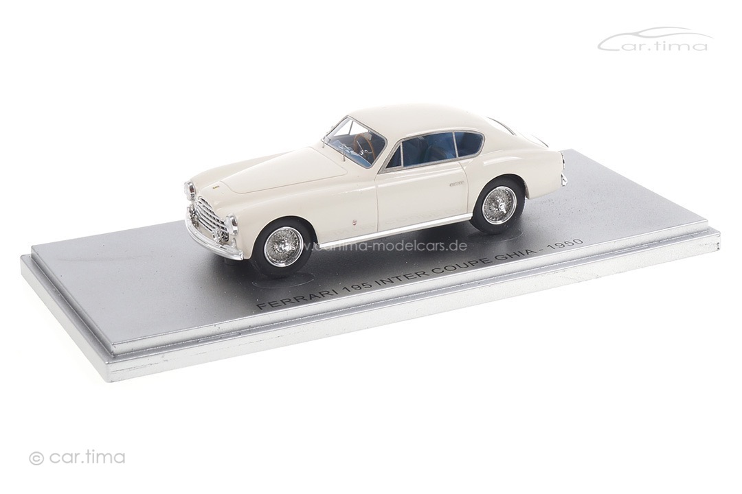Ferrari 195 Inter Coupe Ghia 1950 weiß Kess 1:43 KE43056021