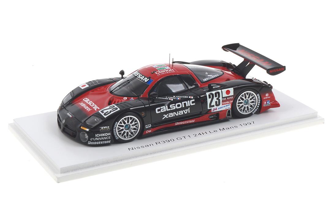 Nissan R390 GT1 24h Le Mans 1997 Comas/Hoshino/Kageyama Spark 1:43 S3579