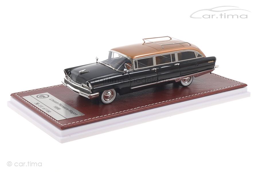 Lincoln Pioneer Station Wagon 1956 schwarz/kupfer GIM 1:43 GIM013A